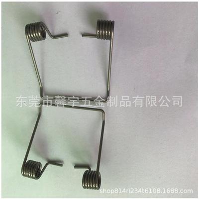 厂家专业生产不锈钢压缩弹簧电池拉力扭转弹簧异形线成型加工定制