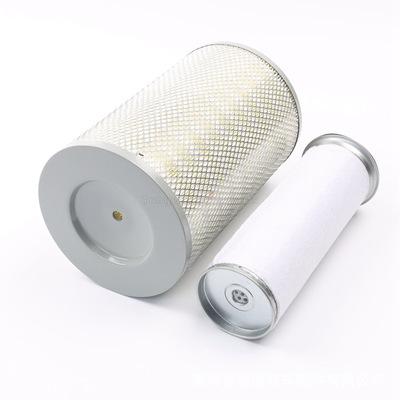 K2030空气滤芯适配福田 解放 凯马 2030铁盖纸芯 货车空气滤清器