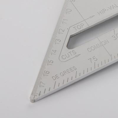 多功能不锈钢45度水平尺 高精度建筑工程角度尺 90度加厚三角尺