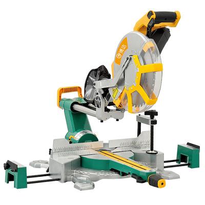 博达12寸拉杆锯铝机斜切锯切割机角度锯多功能电动木工工具双斜锯