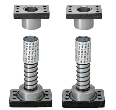 MISUMI标准独立导柱MYAP20-160/MYAP20*160----配铝珠套、定位孔