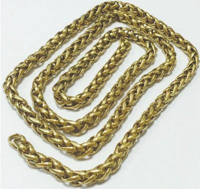 【茂创五金】纯铜财布链黄铜裤链防盗钱包链 手工皮具挂链箱包链