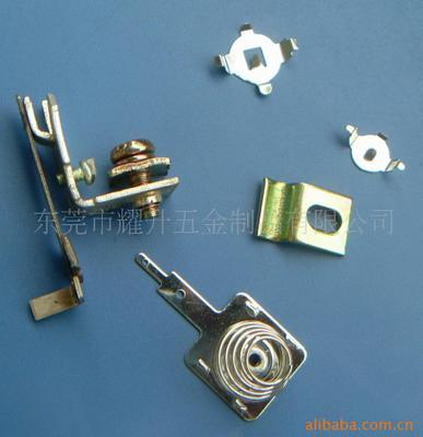 供应电子五金件,五金冲压模加工 汽车配件 工具配件弹片
