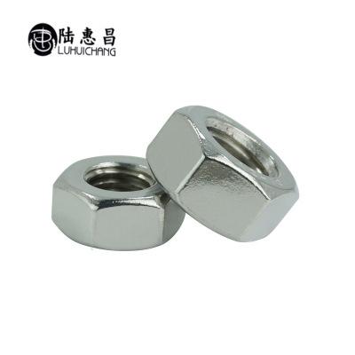 304不锈钢螺母紧锁六角螺母M20-M30 外六角螺帽