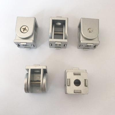 供应20锌合金活动铰链转向连接件铝型材配件