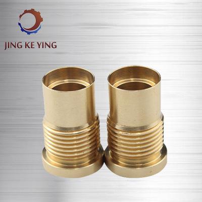 精密铜件加工 专业数控车床机械精加工 黄铜五金配件cnc精密加工