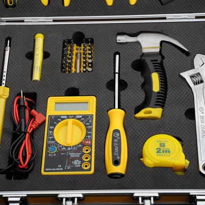 欧克48件套家用手动工具组套家用机修维修套装工具多功能组合工具