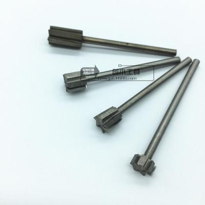 清底刀3x8mm 热卖木雕电动钻头 高速钢刀木工雕刻刀白钢旋转锉刀
