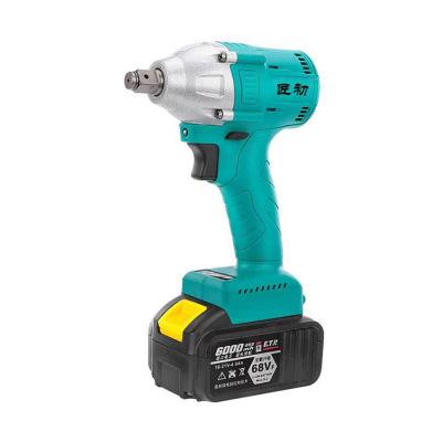 匠初锂电无刷冲击电动扳手充电工具木工架子工大扭力冲击扭矩扳手