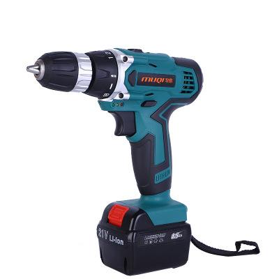 电动工具21v双速锂电钻充电手电钻电动螺丝刀电动起子手枪钻批发