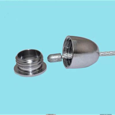 子弹头套 天花固定件 吊绳铜件 钢丝连接头 M10牙 平板灯饰配件
