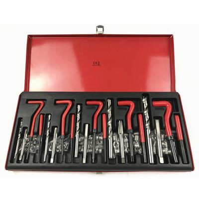 131件套螺纹修复工具 不锈钢304钢丝螺套组套 火花塞螺纹修复工具