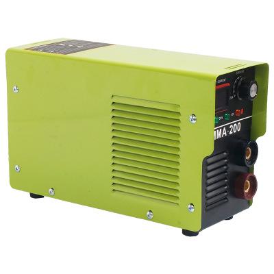 家用小型电焊机逆變焊機110v电焊机MMA-200美国日本台湾110V
