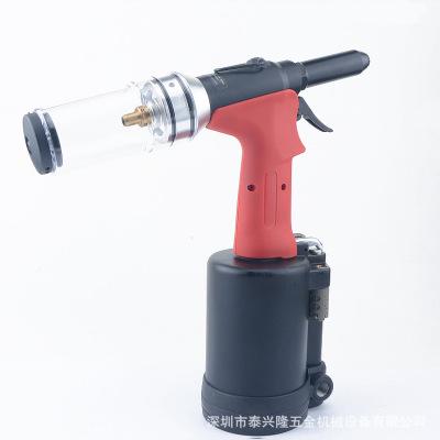 台湾勱科A280气动拉钉枪工业级不锈钢抽芯拉铆枪 6.4自吸式铆钉枪