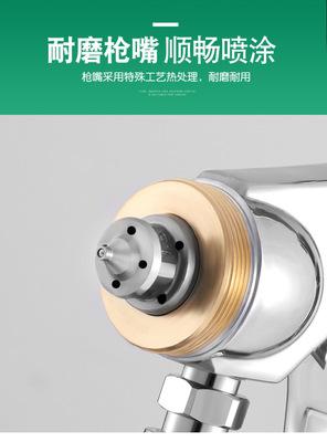 日本井原油漆喷枪W-77乳胶漆涂料胶水汽车家具大口径高雾化喷漆枪