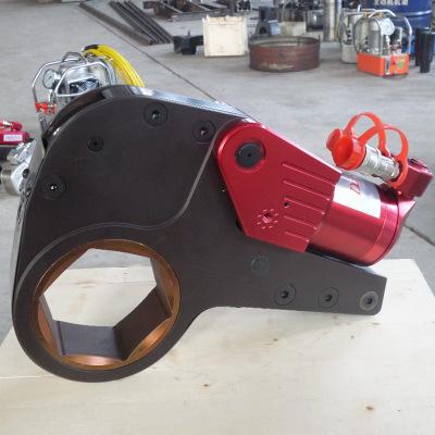 中空型液压扭矩扳手厂家航空机械风电设备用铝钛合金液压扭矩扳手