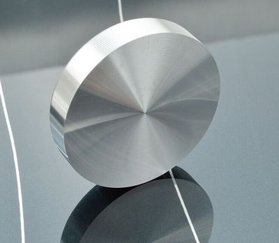 厂家直销 圆形实心铝饼 家具玻璃桌茶几铝饼 展示柜铝饼