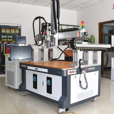 750W光纤激光器焊接机 镀锌条连续激光点焊机 自动拉焊机设备直销
