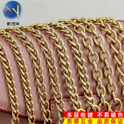 女士包包鎏金链条优德88娱乐官网单买斜挎肩带包带子包链不易掉色金属链