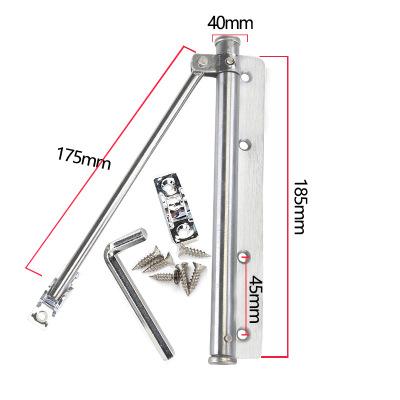 闭门器自动关门器木门隐形门纱窗门弹簧缓冲闭门器轻型简易闭门器