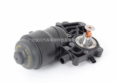 适用于大众奥迪机油机油滤清器底座 机油散热器底座059115389G/H