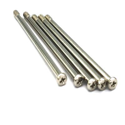 深圳厂家专业定制云拍杆螺丝|机器紧固件配件|镀镍精密特长螺丝