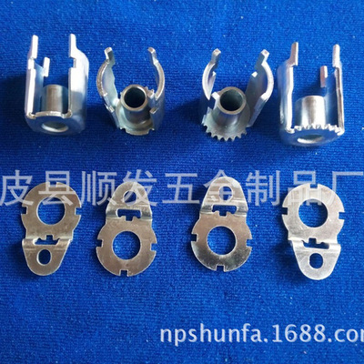 厂家直销 各种金属配件 传感器外壳 精密五金件 拉伸件 汽车配件
