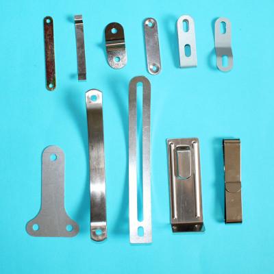五金金属成型冲压件 不锈钢弹片铁片 支架加工定制定做LOGO冲压件