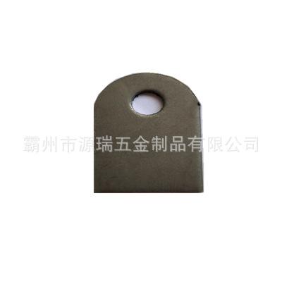 18*25mm小孔片 单孔耳片 冲压铁片 角码 桌架焊接安装铁片 孔5.5