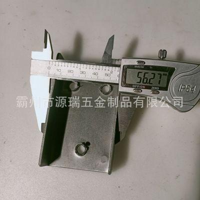 30*60钢管U型连接件内插件 3060方管内连接配件 铁管隐形直角接头