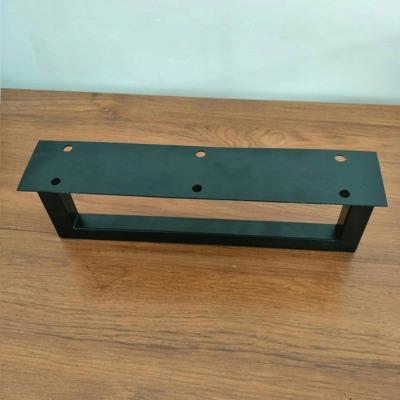 定制铁艺桌架桌腿支架桌脚大板桌办公桌台脚餐桌桌腿架小茶几桌架