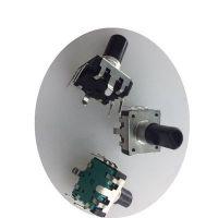 EC12编码器带开关 塑料轴编码器 可调电位器 旋转电位器 旋钮帽