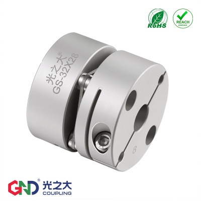 GND光之大传动联轴器伺服电机丝杆弹性单膜片连轴器GS-34X32