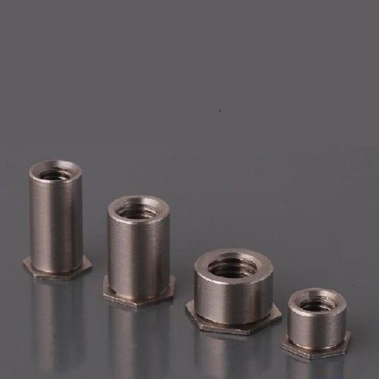 厂家直销通孔压铆螺母柱钣金铆螺母柱SOO-M3-3~SOO-M3-14