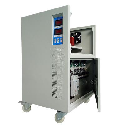 全自动交流稳压器10-1000KVA 380V工业医疗补偿式三相稳压器