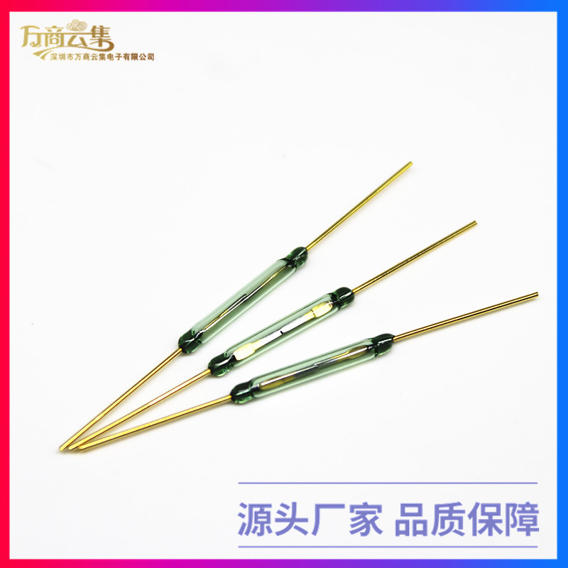 优德88中文客户端 MKA20101 尺寸2.5X20MM 常开型磁控开关俄罗斯原装干簧管