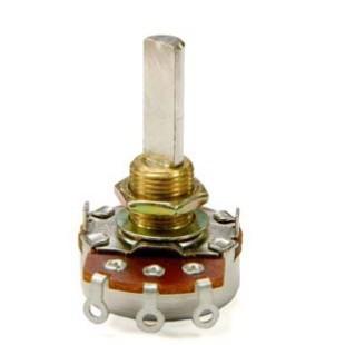 厂家优德88中文客户端R24mm旋转电位器,进口碳膜电位器,长寿命精密电位器