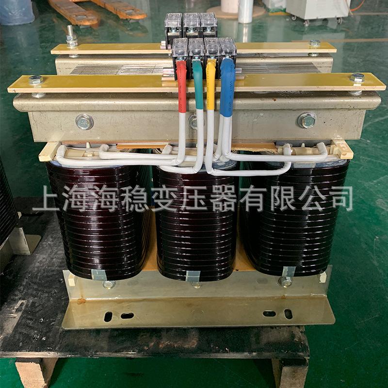菲律宾220V转380V三相干式隔离变压器LSG-80KVA升压变压器