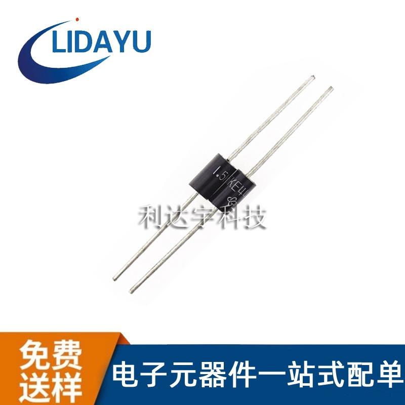 TVS二极管 1.5KE10CA 直插双向瞬变抑制二极管插件 VISHAY/威世