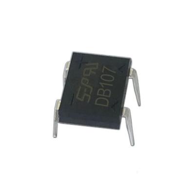 厂家直销 DB107 插件桥堆 DB107 DIP-4封装 1A/1000V 直插整流桥