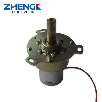 厂家批发正科减速电机5K高精度有刷直流电动机SVC稳压器专用电机