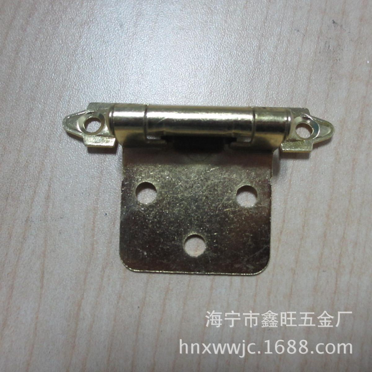 厂家供应优质 弹簧铰链 家具铰链 美式铰链 自关铰链