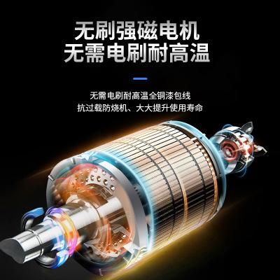 工业级角磨机88VF无刷锂电大容量电池金属木材打磨手砂轮角磨机