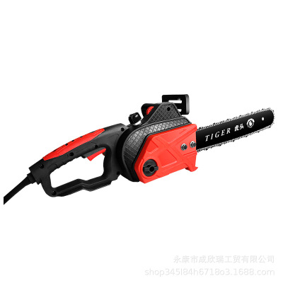 德国技术电锯伐木锯家用小型手持电链锯切割锯手提电锯链条电动锯