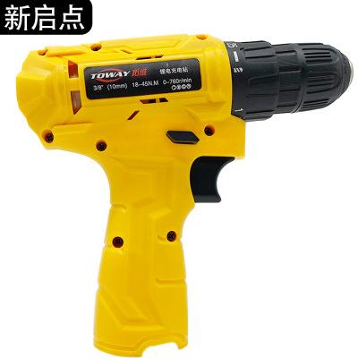 工业级充电式手电钻家用工具小手枪钻多功能电动螺丝刀套装可定制