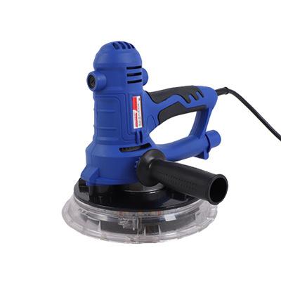 厂家直销手持式无尘墙面打磨机电动带LED灯自吸尘砂皮机腻子打磨