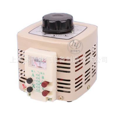 单相调压器220V自耦接触式交流0-250v可调TDGC2-1KVA2KW3KVA5K10K