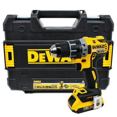 DEWALT得伟DCD791-18V锂电充电式无刷磁浮电钻起子充电螺丝刀