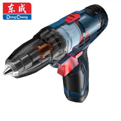 东成充电式手电钻电动工具DCJZ10-10e双速工业级多功能电动螺丝刀