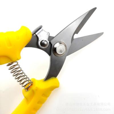 厂家现货批发 不锈钢电子剪刀 电工剪 线槽剪